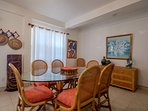The entire condo is filled with the tropical Belizean light! A high chair available for your infant!