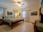 Expansive master bedroom with your king sized bed!