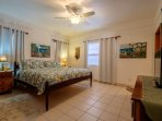 Amenities include lights and views from every window as well as AC, ceiling fans and cable TV!