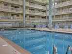 Enjoy the indoor pools on those rainy days.