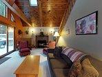 Private home w/ deck, game room, HOA pool & beach - near Shawnee Peak slopes!