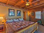 Each bedroom offers a king-sized bed for your comfort.