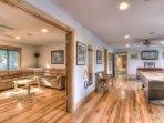 Beautiful furnishings and high quality wood floors