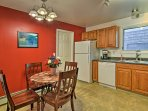 This unit provides all the comfort and amenities of home for a relaxing getaway.