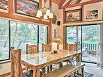 You'll never forget the family meals you enjoyed at this rustic table for 6.