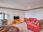 Home to the 2nd of 2 flat-screen cable TVs, this room is ideal for movie nights.