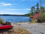 Start your kayak excursions from the boat launch.