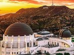 Griffith Observatory - Visitors can look through telescopes, explore exhibits, see live shows