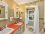 Bedroom wing shared bath