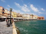 The harbor of Chania old town