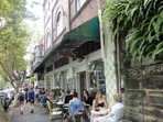 Scroll along Crown Street to find many cafes, restaurants and bars close by.