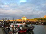 We recommend a trip to Gunsgreen House smuggling museum and the fishing village of Eyemouth