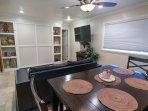 Dining Area and Den Unit B