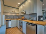 The kitchen comes fully equipped to handle all your favorite recipes!
