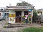 Rasta's Corner shop 5 minutes walk from the property