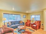 Sit back and relax on the plush furnishings as you get into vacation mode.