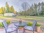 Your relaxing Washington getaway begins when you stay at this charming Gig Harbor home!