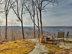 Overlooking the Cumberland Mountains, this home offers stunning views and peaceful solitude of up to 8 guests.