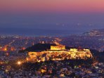 The Acropolis at night!