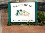 Our property is nestled in the historic neighborhood of Wrigley, Long Beach.
