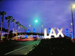 It's easy to fly in! We are located about 20 minutes from LAX and only 10 minutes from LGB.