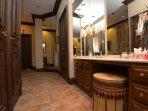 Main floor king Room Bathroom