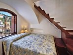 Bedroom with view of Amalfi cathedral