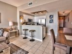 Majestic Sun 509B - Combined Living, Dining & Kitchen