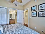 Majestic Sun 604B - King Guest Bedroom and Adjoining Bathroom