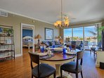 Enjoy a Family Meal or a perhaps host a game night at this spacious dining area with seating for 4
