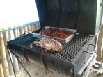 Grilled chicken and sea food available 12 minutes walk from the property. Sand Man's Irie Bar