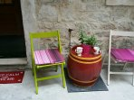 Patio - your place for relaxing with first 'coffee'!