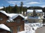 Snowy views from Loft 106