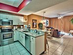 Majestic Sun 613B - Kitchen Featuring Stainless Steel Appliances