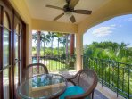 Guest rooms include private balconies