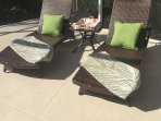 Wicker Chaises to Soak Up the Naples Sunshine!