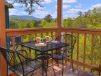 Outdoor Dining with Mountain Views