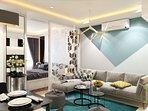 the modern living room