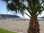 Playa cercana Los Cristianos-1