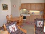 Living room, Cook corner
