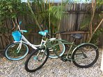 Bikes - Ride around and enjoy the wonderful South Florida weather with our complimentary bikes.