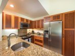 Kitchen is brand new and fully equipped
