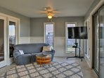 Everyone will love spending downtime in the sunroom!