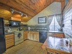 Whip up home-cooked cuisine in the fully equipped kitchen.