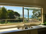 Enjoy the view from the kitchen window