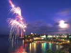 Tenby firework display.