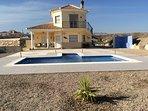Luxury 5 star villa stunning views, one of the best positions in partaloa area 4 bedroom pool 3 bath