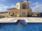 Luxury villa 4 bedrooms sleeps 8 3 bathrooms stunning mountain views tranquil position