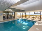 Indoor pool to enjoy rain or shine, year 'round.