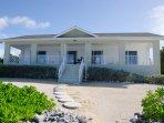 View of Brac Beach House from the Caribbean Sea